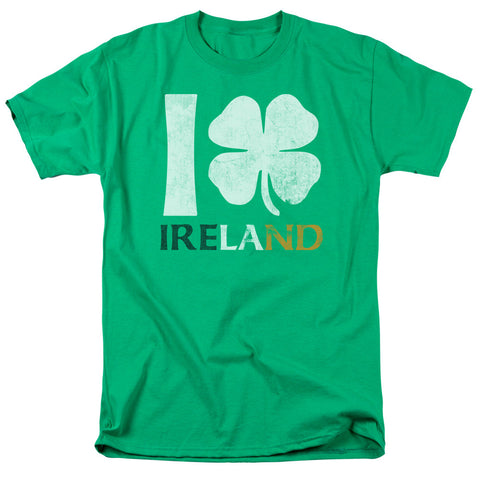 I Love Ireland Green Men's T-Shirt - St. Patrick's Day