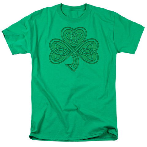 Celtic Shamrock Green Men's T-Shirt - St. Patrick's Day - livezippy