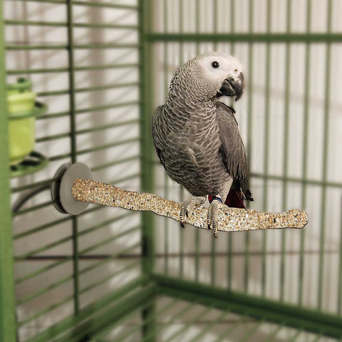 "K&H Pet Products Bird Sand Thermo-Perch Large Sand 14.5"" x 2"" x 2"" - livezippy"