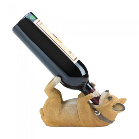 Accent Plus Chihuahua Wine Bottle Holder - livezippy
