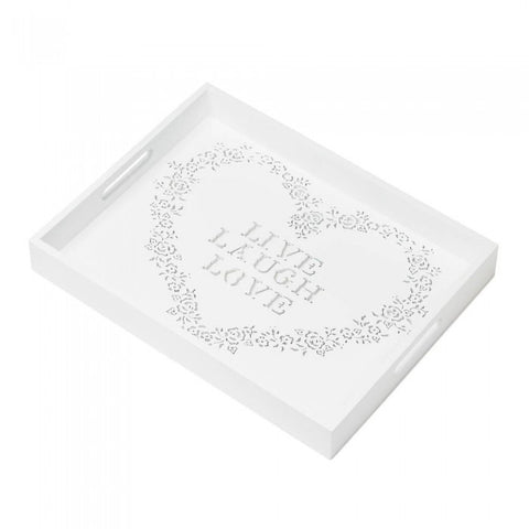 Accent Plus Live Laugh Love Tray - livezippy