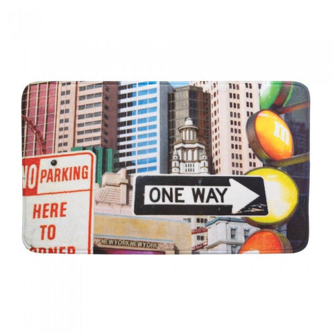 Accent Plus City Traffic Signs Floor Mat - livezippy