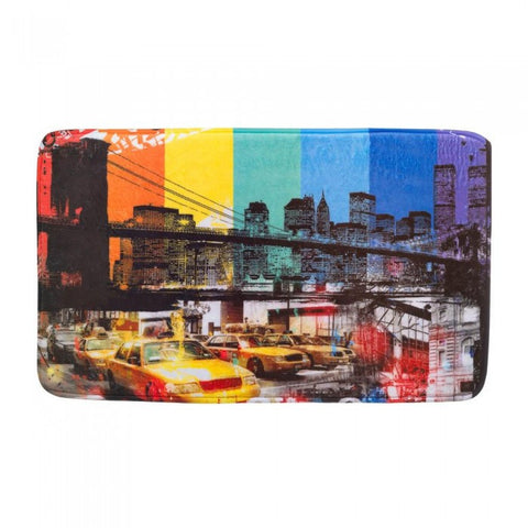 Accent Plus Brooklyn Bridge Floor Mat - livezippy