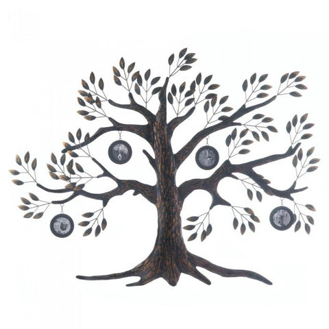 Accent Plus Family Tree Photo Wall Decor - livezippy