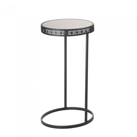 Accent Plus Midnight Moroccan Accent Table - livezippy