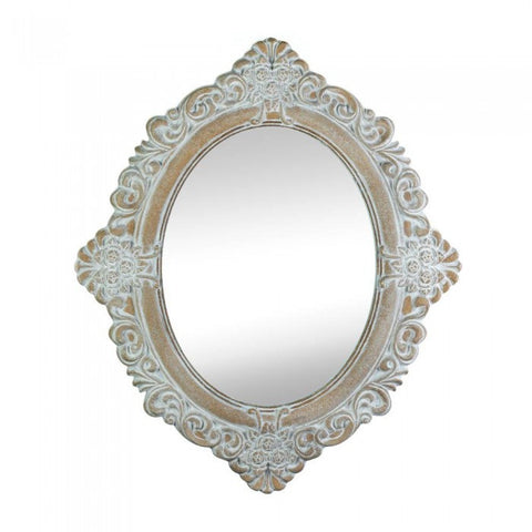 Accent Plus Vintage Amelia Taupe  Mirror