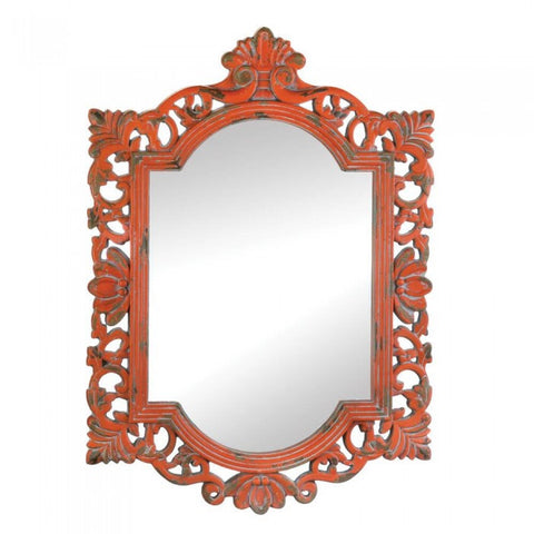 Accent Plus Vintage Emily Coral  Mirror