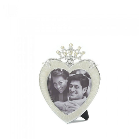 Accent Plus Crown Heart Frame 3X3 - livezippy