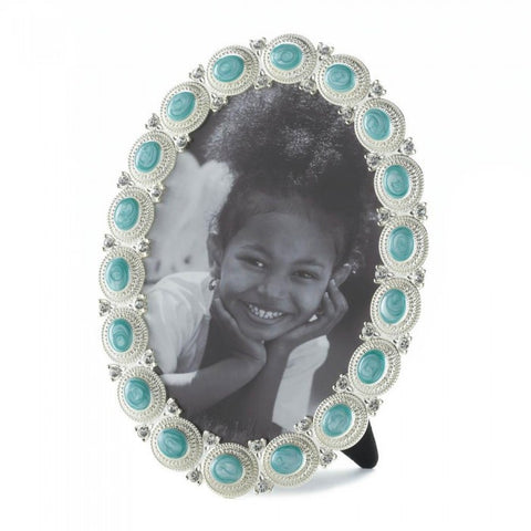 Accent Plus Sea Cabochon Photo Frame 5X7