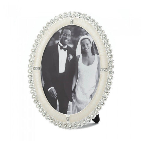 Accent Plus Rhinestone Shine Photo Frame 5X7 - livezippy