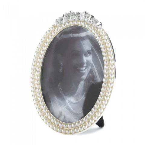 Accent Plus Strands Of Pearl Photo Frame 5X7