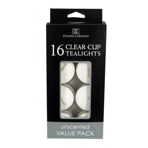 Sunrise Creek White Clear Cup Tealights