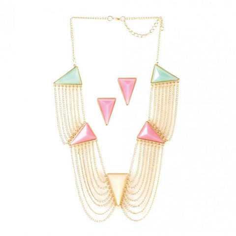 Breezy Couture Modern Art Deco Jewelry Set - livezippy