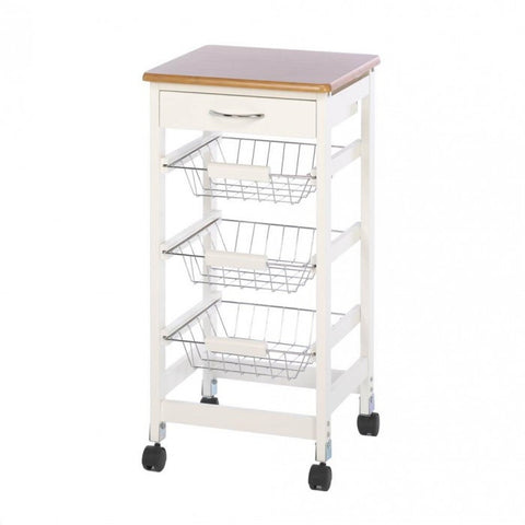 Accent Plus Kitchen Side Table Trolley - livezippy