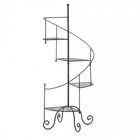 Summerfield Terrace Spiral Showcase Plant Stand