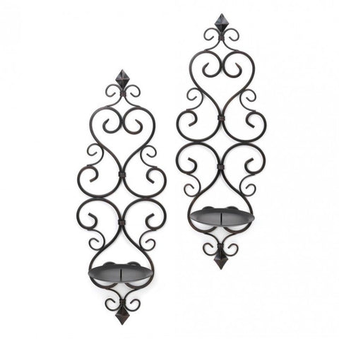 Gallery of Light Fleur-De-Lis Wall Sconce Duo