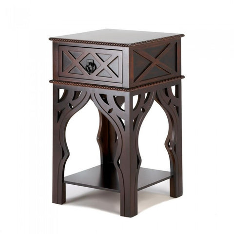 Accent Plus Moroccan-Style Side Table - livezippy