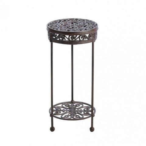 Summerfield Terrace Cast Iron Round Plant Stand