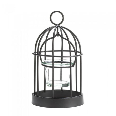 Gallery of Light Mini Birdcage Candleholder