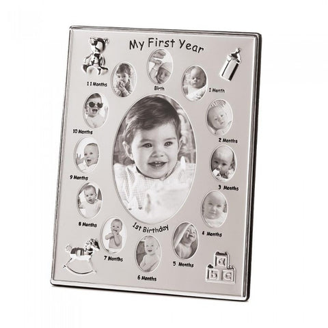 Accent Plus 39783 My First Year Photo Frame - livezippy