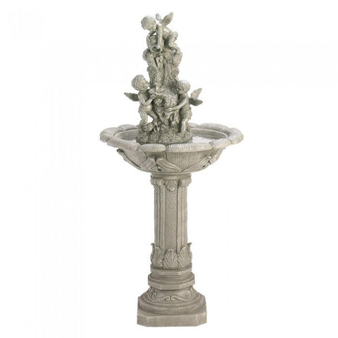 Cascading Fountains 33631 Playful Cherubs Fountain - livezippy