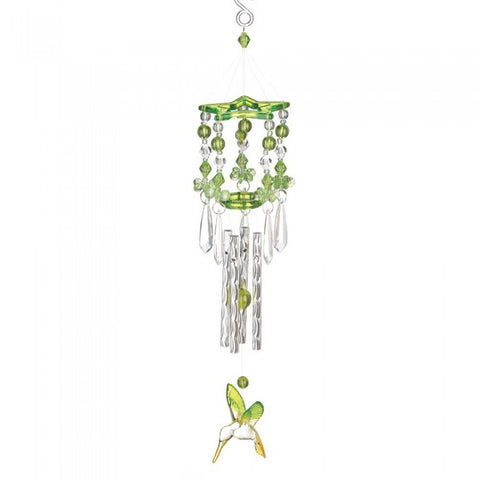 Songbird Valley 12506 Green Hummingbird Chimes