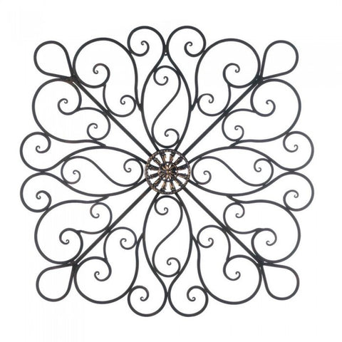 Accent Plus Scrollwork Wall Decor
