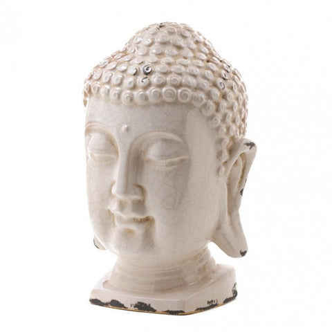 Accent Plus Table Top Buddha Head Decor