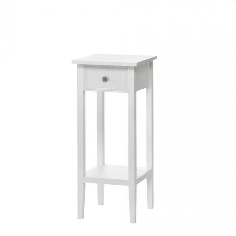 Accent Plus Willow White Side Table