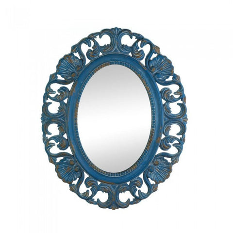 Accent Plus Vintage Belle Blue  Mirror