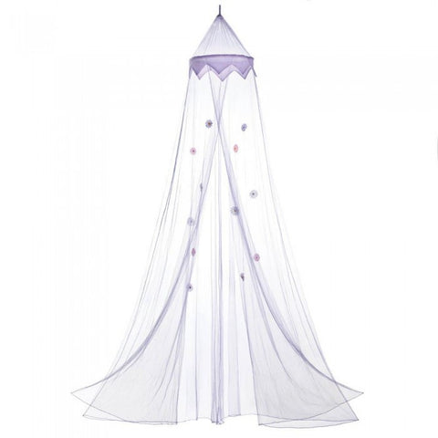 Accent Plus Magical Purple Bed Canopy - livezippy