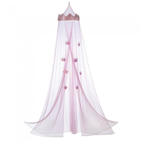 Accent Plus Pink Princess Bed Canopy - livezippy