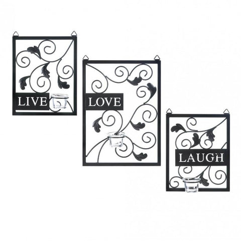 Accent Plus Live Love Laugh Wall Decor - livezippy