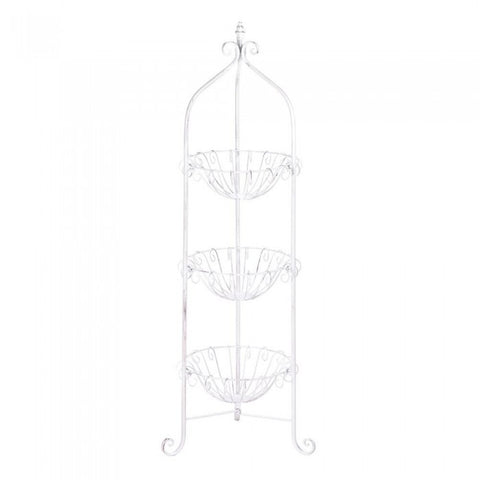 Accent Plus Corner Basket Stand - livezippy