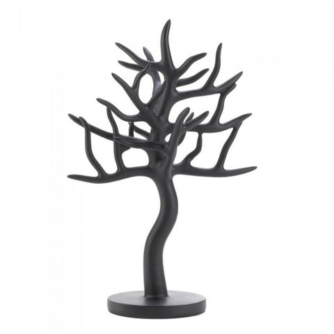 Accent Plus Black Tree Jewelry Stand - livezippy