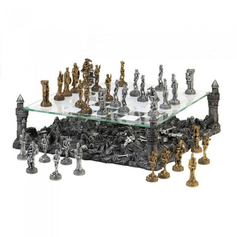 Dragon Crest 15189 Battleground Chess Set - livezippy