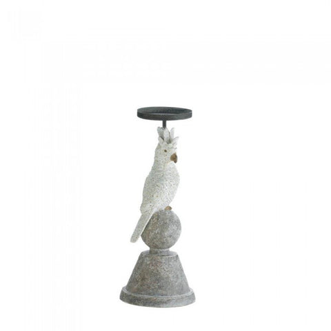Accent Plus 10017837 Slender Cockatoo Candleholder