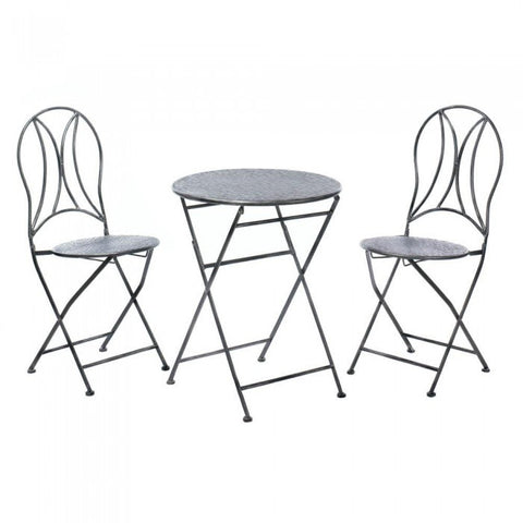 Accent Plus 10017614 Hammered Textured Patio Set