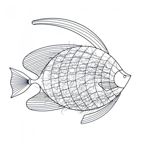 Accent Plus 10017852 Intricate Fish Wall Decor