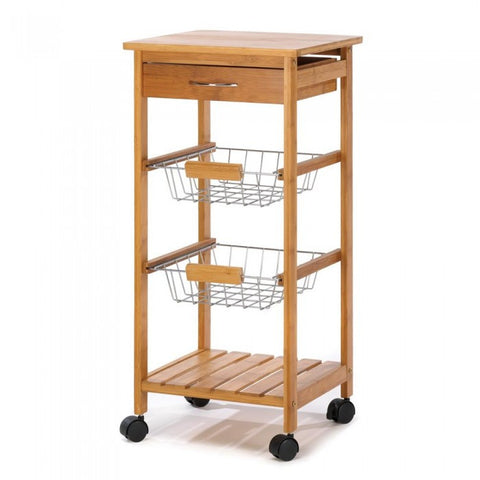Accent Plus 14710 Osaka Kitchen Cart - livezippy