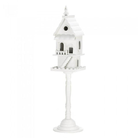 Songbird Valley 10016003 Two Story Pedestal Birdhouse