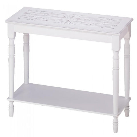 Accent Plus 34709 Carved-Top Table - livezippy
