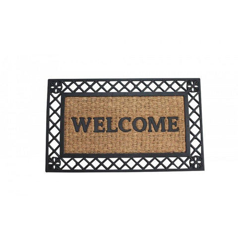 Summerfield Terrace 10017940 Bold Border Welcome Mat