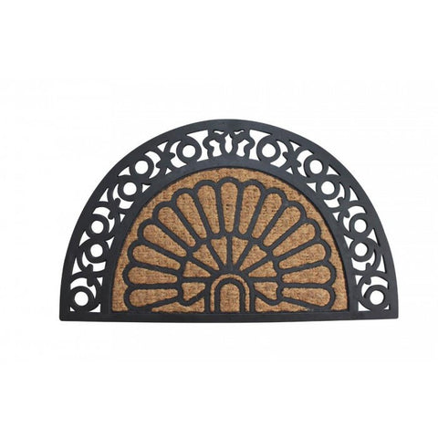 Summerfield Terrace 10017938 Half Moon Fancy Welcome Mat