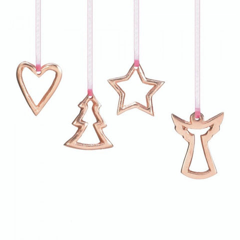 Christmas Collection 10017584 4-Piece Mini Ornament Set - livezippy