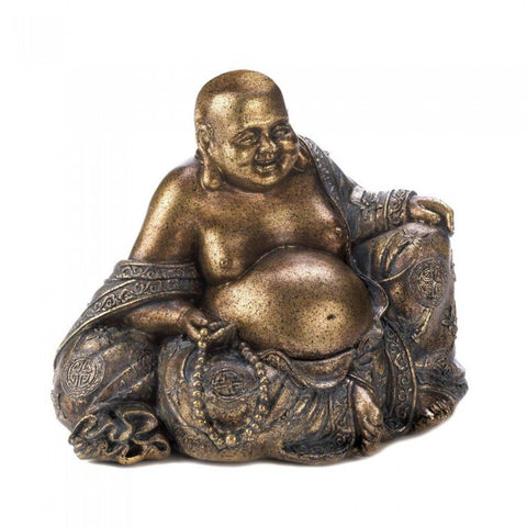 Accent Plus 10017007 Smiling Buddha Statue