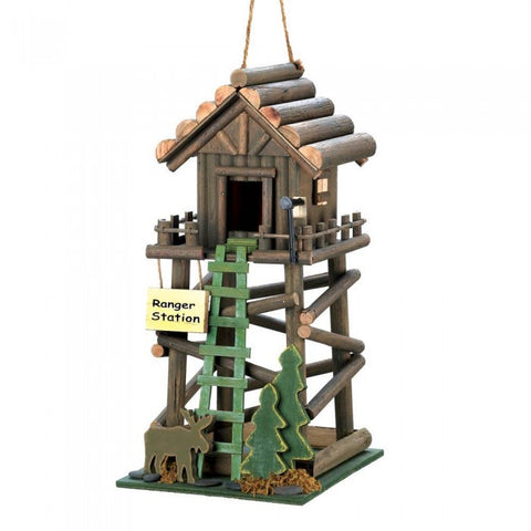 Songbird Valley 10016369 Ranger Station Birdhouse