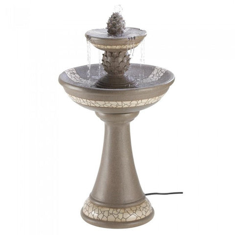 Cascading Fountains 13807 Mosaic Courtyard Fountain - livezippy