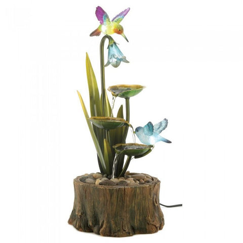 Cascading Fountains 13900 Hummingbird Haven Fountain - livezippy