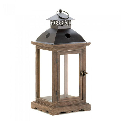 Gallery of Light 10015420 Large Monticello Candle Lantern - livezippy